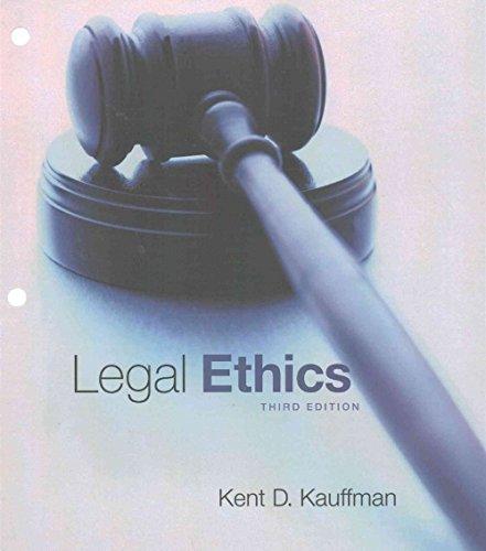 Legal Ethics, Loose-Leaf Version