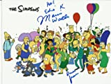 The Simpsons Marcia Wallace Voice of Edna Krabappel Hand-Signed 8 x 10 Photo