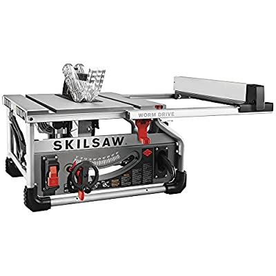 "SKILSAW SPT70WT-01 10"" Portable Worm Drive Table Saw with 25"" Rip Capacity"
