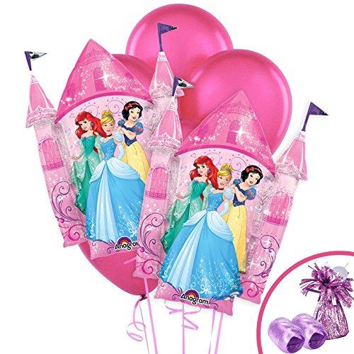 BirthdayExpress Disney Princess Party Supplies Jumbo Balloon Bouquet