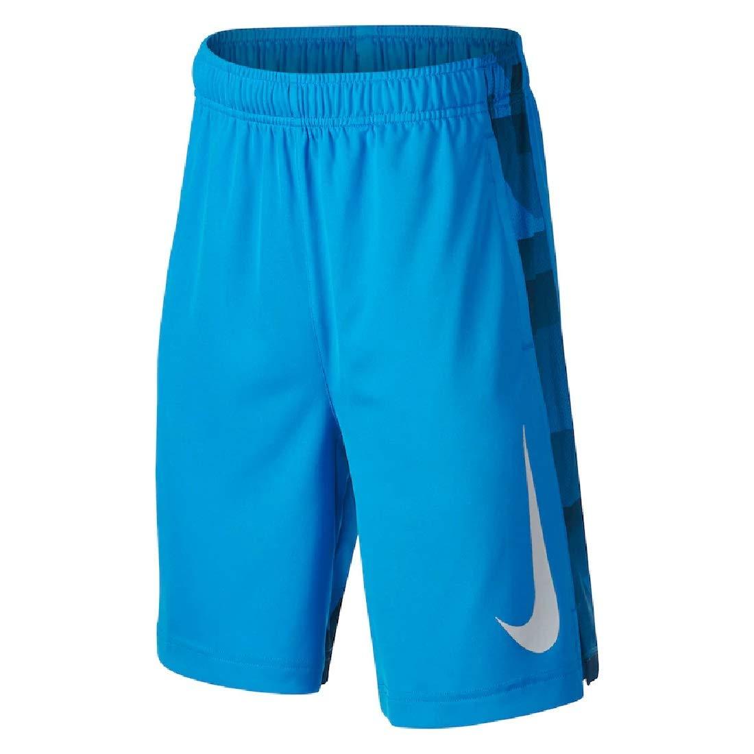 Nike Boys 8-20 Dri-FIT GFX Legacy Shorts (Equator Blue, Small)