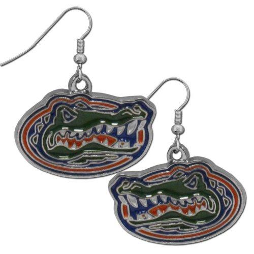 NCAA Florida Gators Chrome Dangle Earrings