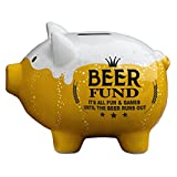 PRINZ 6631-6001 Party Pigs Beer Fund Piggy Bank