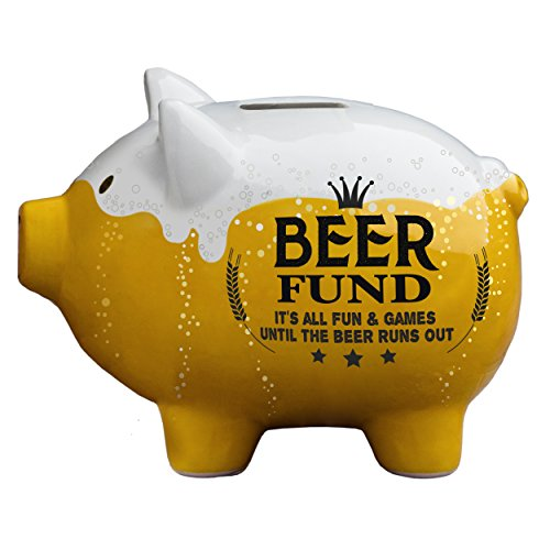 Party Pigs Beer Fund Piggy Bank