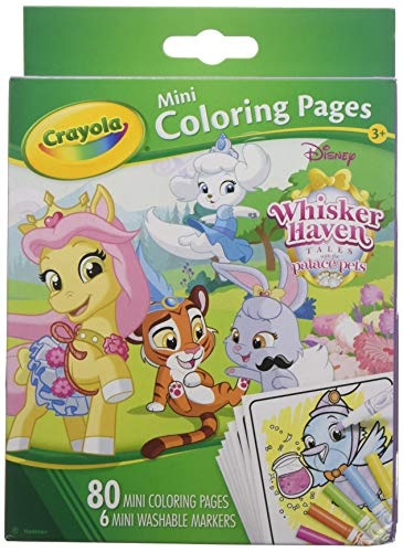 Palace Pets Coloring Pages (Crayola Mini Coloring Pages Disney Whisker Haven Tales 1 ea (Pack of)