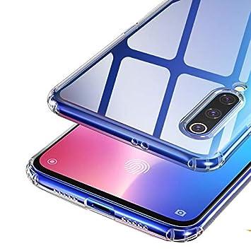 Hotsilai Funda Xiaomi mi 9 ,Original Versión Mejorada Slim Carcasa Suave de Silicona TPU concubierta Protectora de Ancho Completo Case Xiaomi mi9 ...