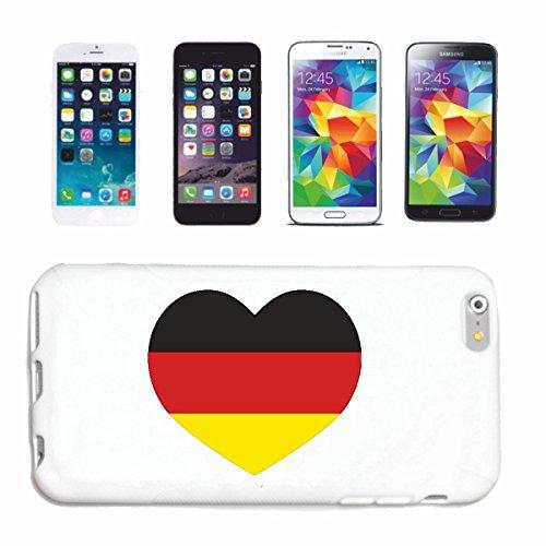 """cas de téléphone iPhone 7+ Plus """"COEUR DE FOOTBALL FOOTBALL Allemagne 2018 Coupe du Monde ALLEMAGNE CHAMPION DU MONDE RUSSIE RUSSIE demi-finale QUARTS DE FINALE"""" Hard Case Cover Téléphone Covers Smart"""