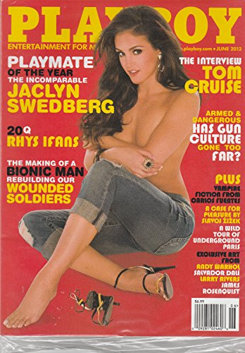 PLAYBOY MAGAZINE, ENTERTAINMENT FOR MEN JUNE, 2012 THE INTERVIEW TOM - Store Toms Outlet