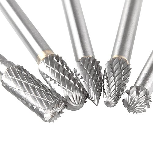- Carbide Burr Set with 1/4