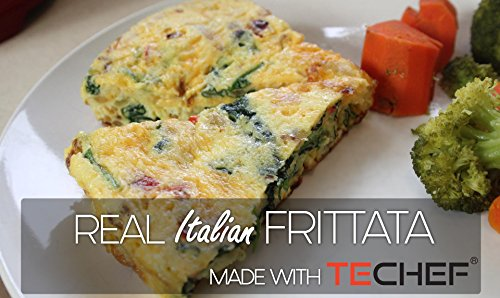TECHEF - Frittata and Omelette Pan, Coated with New Teflon Select/Non-Stick Coating (PFOA Free) (Purple) by TECHEF (Image #4)