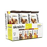 SKRATCH LABS Anytime Energy Bar, Variety Pack, (3 of each flavor) Natural, Low Sugar, Gluten Free, Vegan, Kosher, Dairy Free