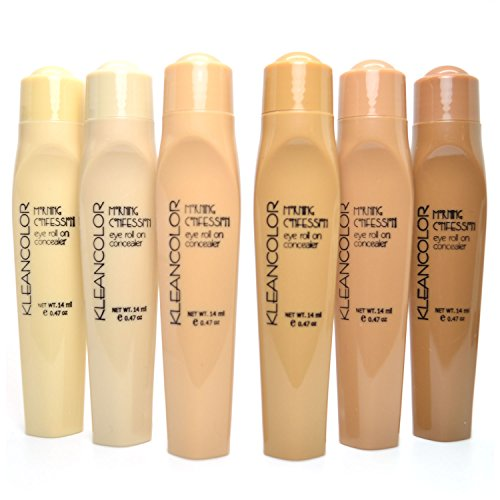 Kleancolor Morning Confession Eye Roll On Concealer 6 Full Set CC198 + FREE EARRING