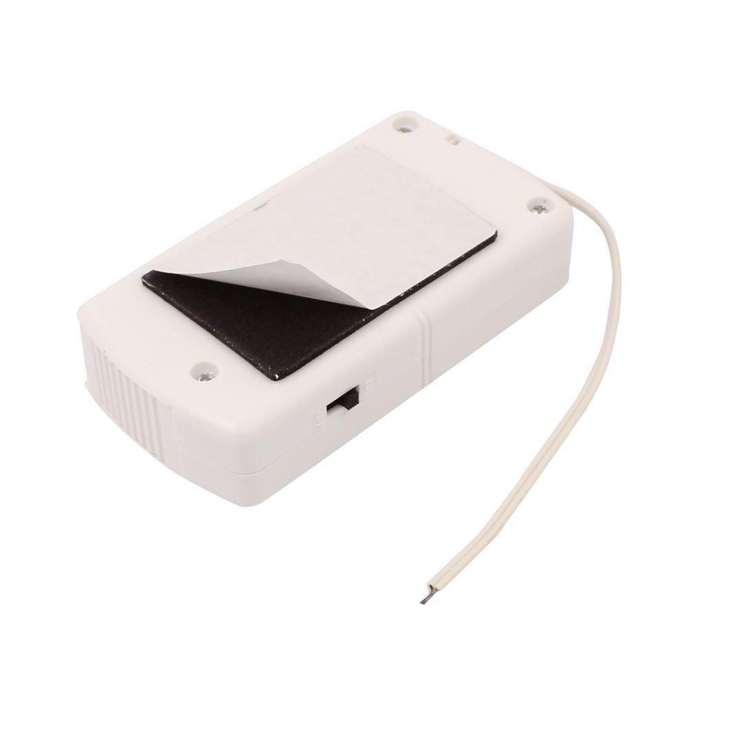 eDealMax Seguridad Personal Ventana de la puerta de desconexión de alarma 120dB Sistema Blanca: Amazon.com: Industrial & Scientific