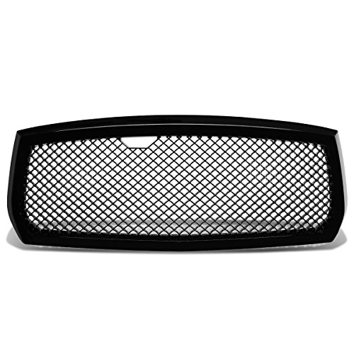 Dodge Dakota ABS Plastic Sport Mesh Front Bumper Grille (Black) - 3rd Gen ND Pre-Facelift