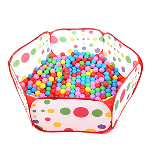 1.2M Portable Hexagon Ocean Ball Pit Pool Toy Tent For Kids - 4