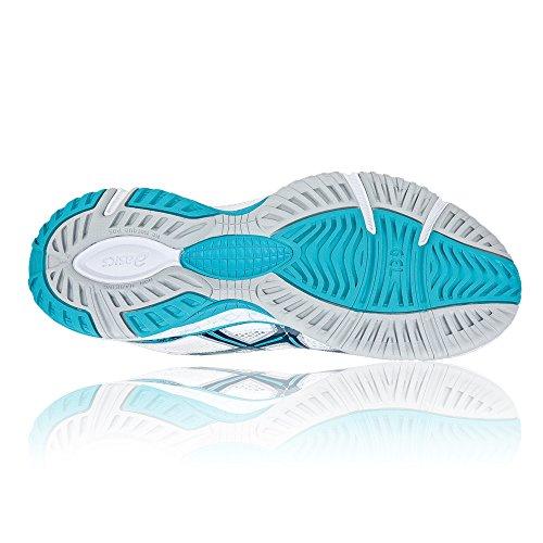 GEL 15 Asics NETBURNER Women's White Shoes Netball aqPdzP
