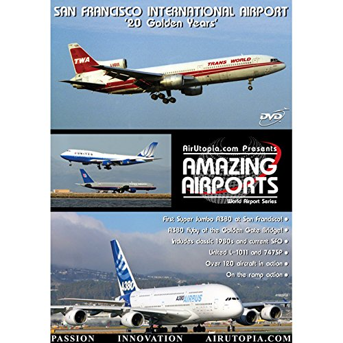 San Francisco International 20 Golden Years Dvd 120 - Airport Shops San Francisco