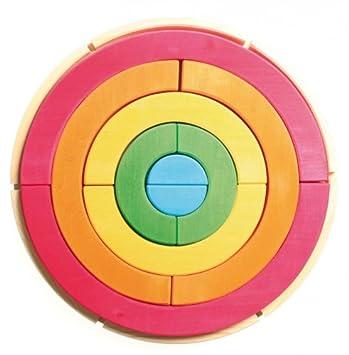 Circle Y In Grimm's Toys esJuguetes Juegos Rainbow A FramAmazon eWrQdCxBo