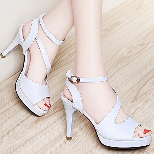 Party Rhinestone Evening Wedding Women's Toe Sandal For Summer Comfortable Peep Spring Meiduo amp; Pink White Shoes Slippers OPqfwn4Cz
