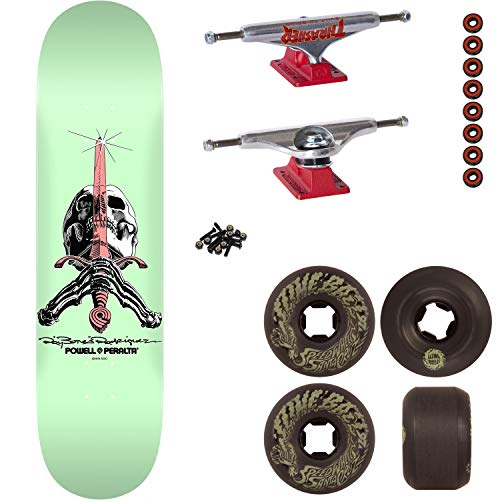 Amazon.com: Powell-Peralta Skateboard Skull/Sword 9 ...