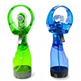 Kretix Portable Water Mist Spray Fan Air Cooler Conditioner By Shoppingtadka ( Multi Color )