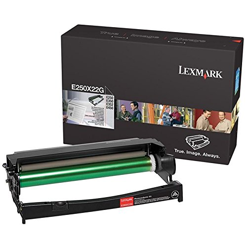 Lexmark E250X22G Laser Toner Photoconductor Kit - Photoconductor Unit, Works for E250, E250D, E250dn, E252 ()