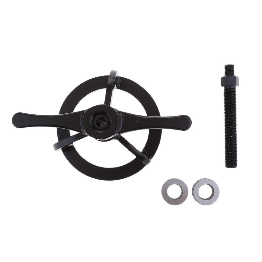 D DOLITY 1 Satz Metall schwarz Farbe Kupplungsfeder-Kompressionswerkzeug Feder-Kompressions-Werkzeug