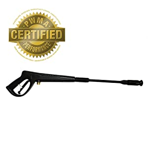 Yard Force Universal-Fit Trigger Handle and Wand with Adjustable Tip -1600 PSI