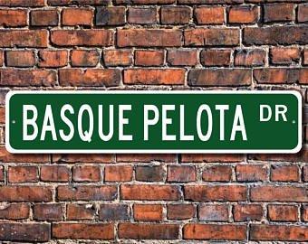 Basque Pelota, Vasco Pelota Regalo, Vasco Pelota Sign, Juego ...