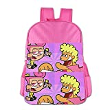 Kids The Fairly Oddparents School Backpack Cool Children School Bags Pink