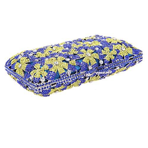 Floral Bonjanvye Yellow Handbags Ab Purses Wedding Glitter Dress Bag Girls For Red Sakura And Party SSqr451x