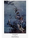 "Arthur Rackham - The fairies of the Serpentine (Fine Art Print on 11.7"" x 16.5'' Sheet)"