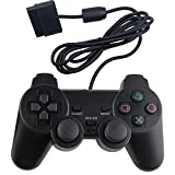 Wired Controller for PS2,Wetoph GD22 Dual Shock