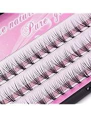 ZOUJIN 6/8/10/12/14mm Curl Natural Individual Cluster Eyelash False Eyelashes Extension