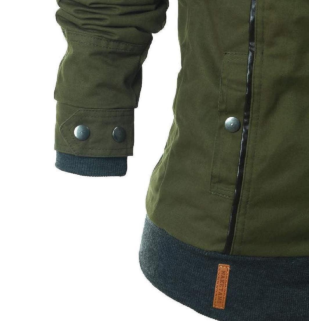 GenericWomen Fashion Hood Drawstring Coat Side Zipper Sweatshirts
