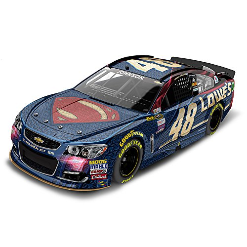 1:24 Scale Jimmie Johnson No 48 2016 Diecast Car: Lowe's Superman Paint Scheme by The Hamilton Collection by The Hamilton Collection