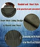 Travel Raincoat,Women Light Waterproof Warm Mesh