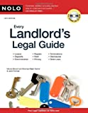 Every Landlord's Legal Guide, Marcia Stewart and Ralph E. Warner, 1413311970