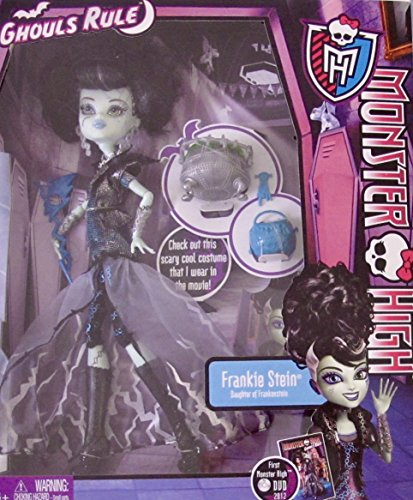 MONSTER HIGH Ghouls Rule FRANKIE STEIN DOLL Daughter of Frankenstein w Cauldron & MORE! (2012)]()