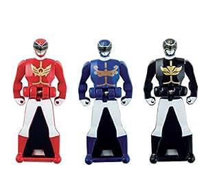 Power Rangers Súper Megaforce - Megazord set de llaves, color rojo, azul y negro (Bandai 38252)