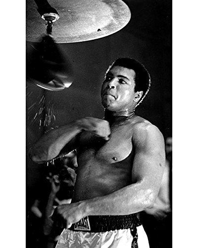 Globe Photos ArtPrints Muhammad Ali Training With A Punching Bag - 8