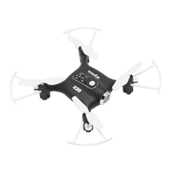 Swiftswan Syma X20 Mini Quadcopter Pocket Drone con Luces LED, 2.4 ...