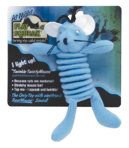 Twinkle Twisty Mouse Cat Toy, My Pet Supplies