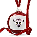 Christmas Decoration Low Poly Animals Modern design Ring-tailed Lemur Ornament