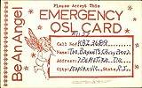 Be An Angel Please Accept This Emergency QSL Card QSL & Ham Radio Original Vintage Postcard