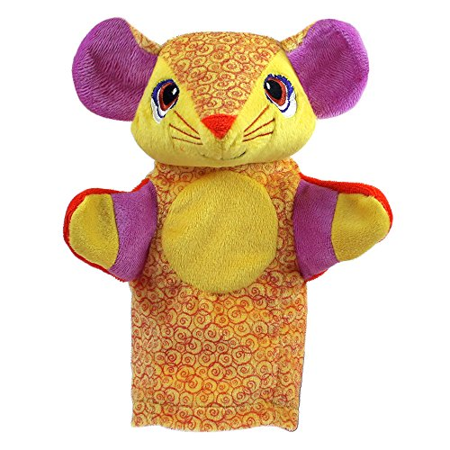 Hand Mouse White Puppet - The Puppet Company My Second Puppets Mouse Hand Puppet Suitable From Birth
