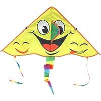 Vlieger, fijn vakmanschap Doek Materiaal Geel Kid Kites met Streamer voor kinderen voor familie Buiten spelen voor aan…