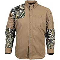 Gamehide Camo Tipped Button Up Hunting Shirt
