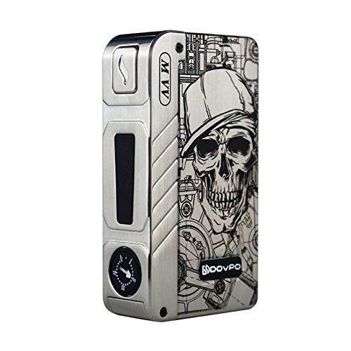 H&W Mechanical Mod Dovpo M VV 280W Vape Mod Kit Skull Pattern No Nicotine