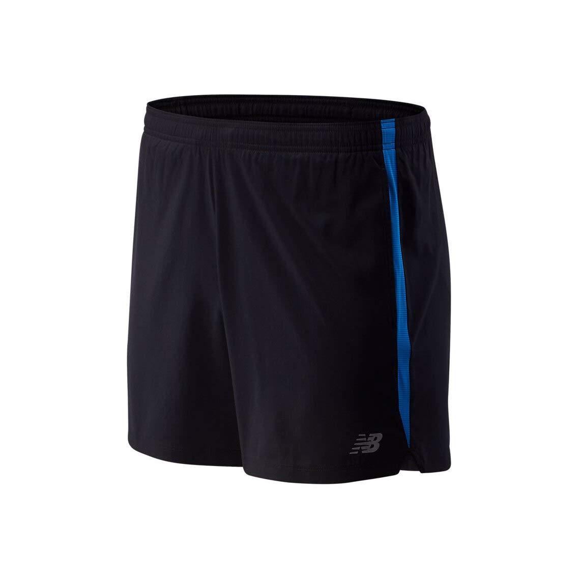 New Balance Herren Accelerate 5In Laufbekleidung Shorts Dunkelblau - Blau L